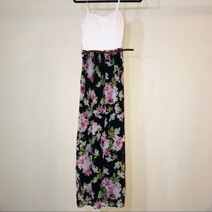 Lily Rose Floral Belted Dress - #1032